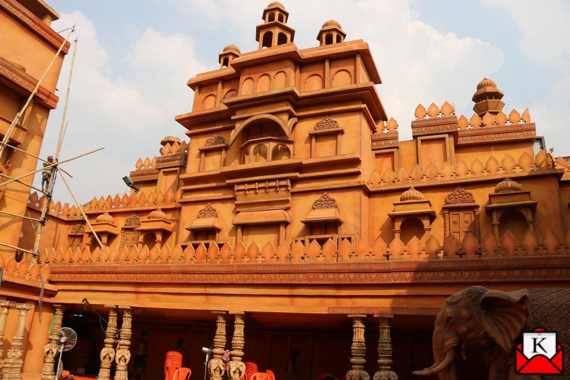 Mohammad Ali Park Recreates Padmavati (Chittorgarh Fort) for This Year's Durga Puja