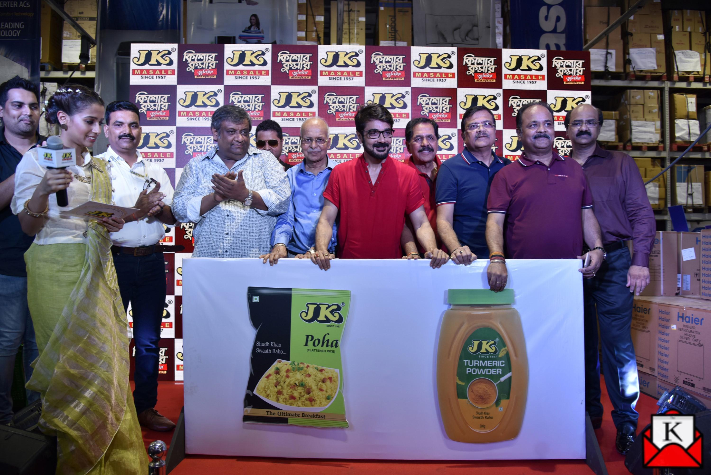 Prosenjit Chatterjee Launched JK Poha and JK Turmeric at Metro Cash & Carry