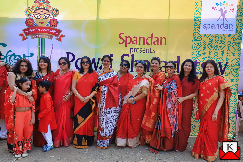 6th Year of Spandan Powai Sharadotsav; Theme of Specially Abled People