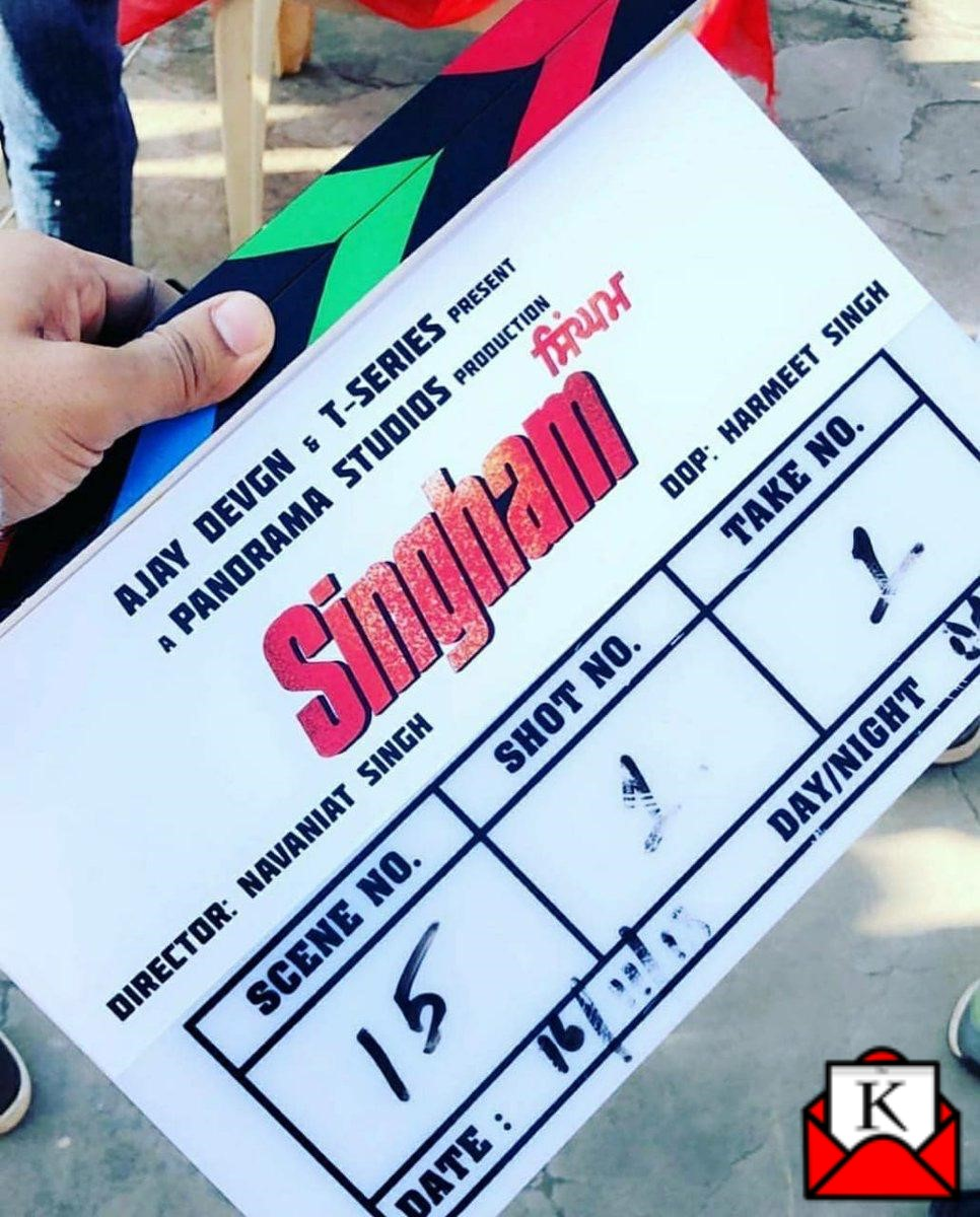Official Remake of Singham in Punjabi; Parmish Verma to Play Ajay Devgn's Role