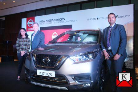 Nissan's New SUV-Nissan KICKS Launched in Kolkata