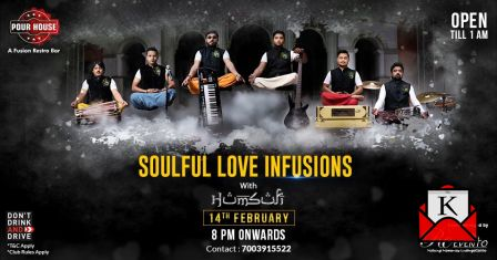 Sufi Band Humsufi To Entertain Audience on Valentine's Day at Pour House