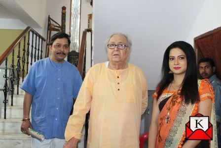 Shooting of Bengali Film Sesh Proman in Progress