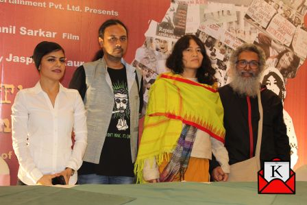 Trailer Launch of Documentary The Turning Point; Based on The Life of Iron Lady Irom Sharmila Chanu