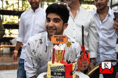 Actor Nikhil Bhambri Turns 24; Celebrates Birthday With Cast of Puncch Beat
