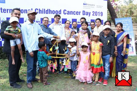 Mass Awareness Program on Childhood Cancer Organized at Narayana Superspeciality Hospital