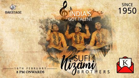 Nizami Brothers to Perform at Bakstage on 16th February