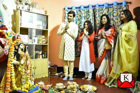 Aaddya Kala Tirtham & Prayas Organized Saraswati Puja; Payel Sarkar Graces Occasion