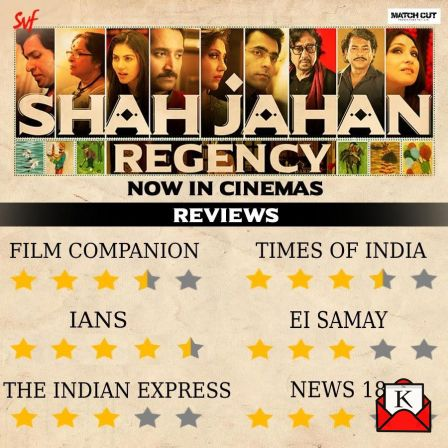 SVF's Shah Jahan Regency Released Nationally