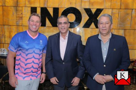 Inox Announces Partnership With Rajasthan Royals