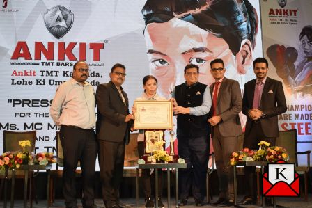 ANKIT TMT Bars Announced MC Mary Kom As Their Brand Ambassador