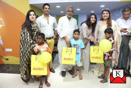 Celebrities Celebrated Poila Boisakh With Underprivileged Kids at Doodlers