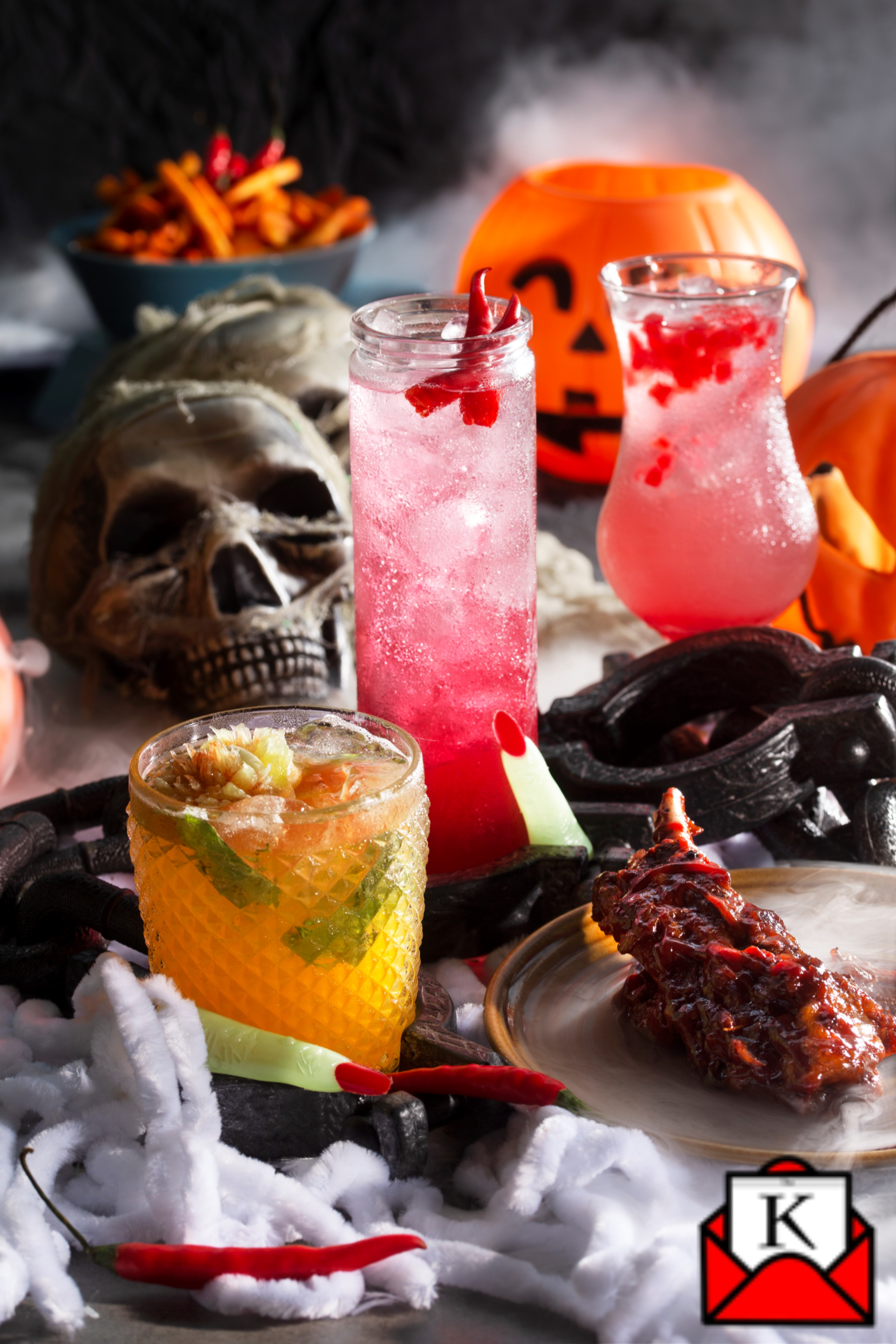 Celebrate Halloween at Monkey Bar's Haunted House on 31st October