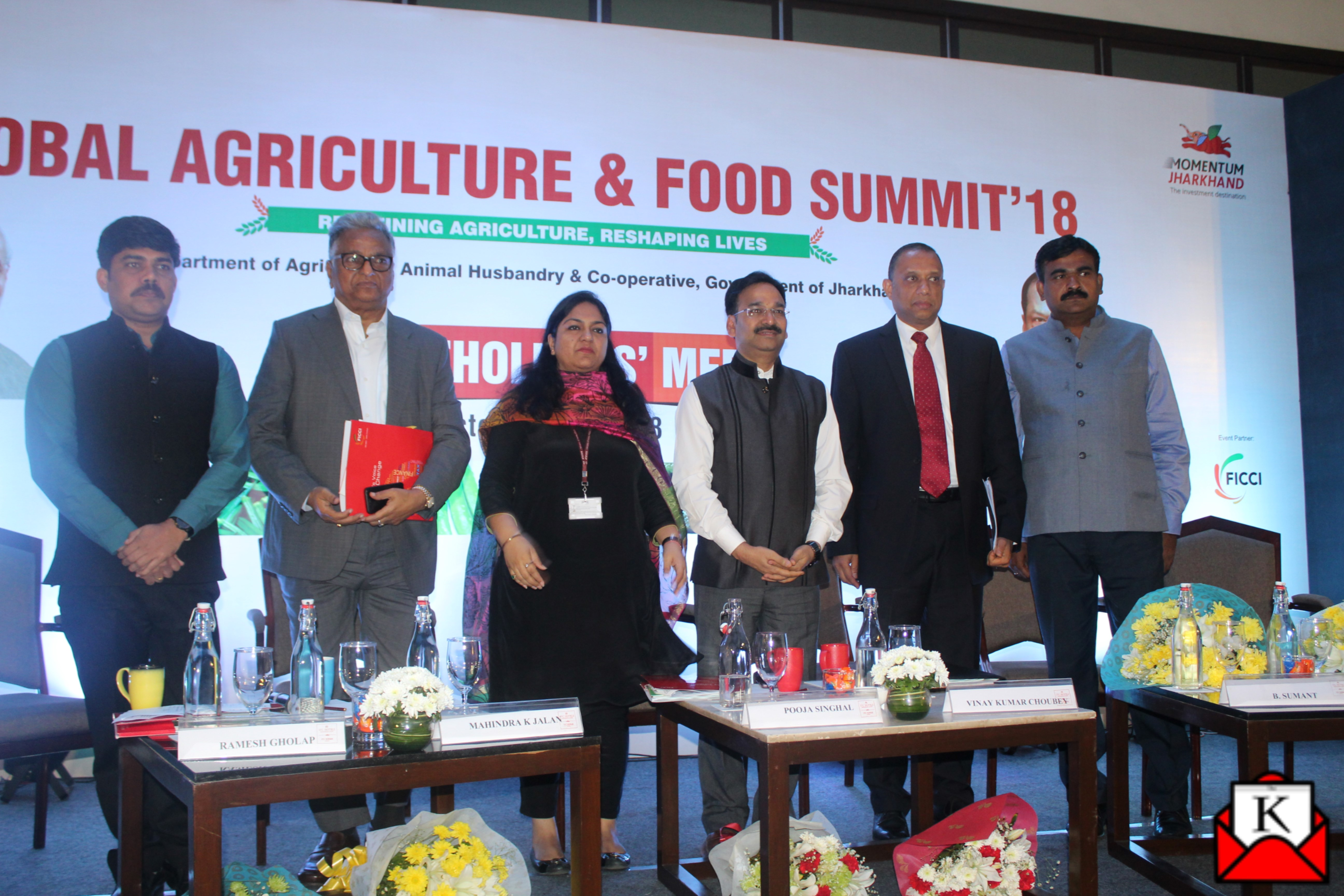 Roadshow by Government of Jharkhand to Promote Global Agriculture and Food Summit 2018