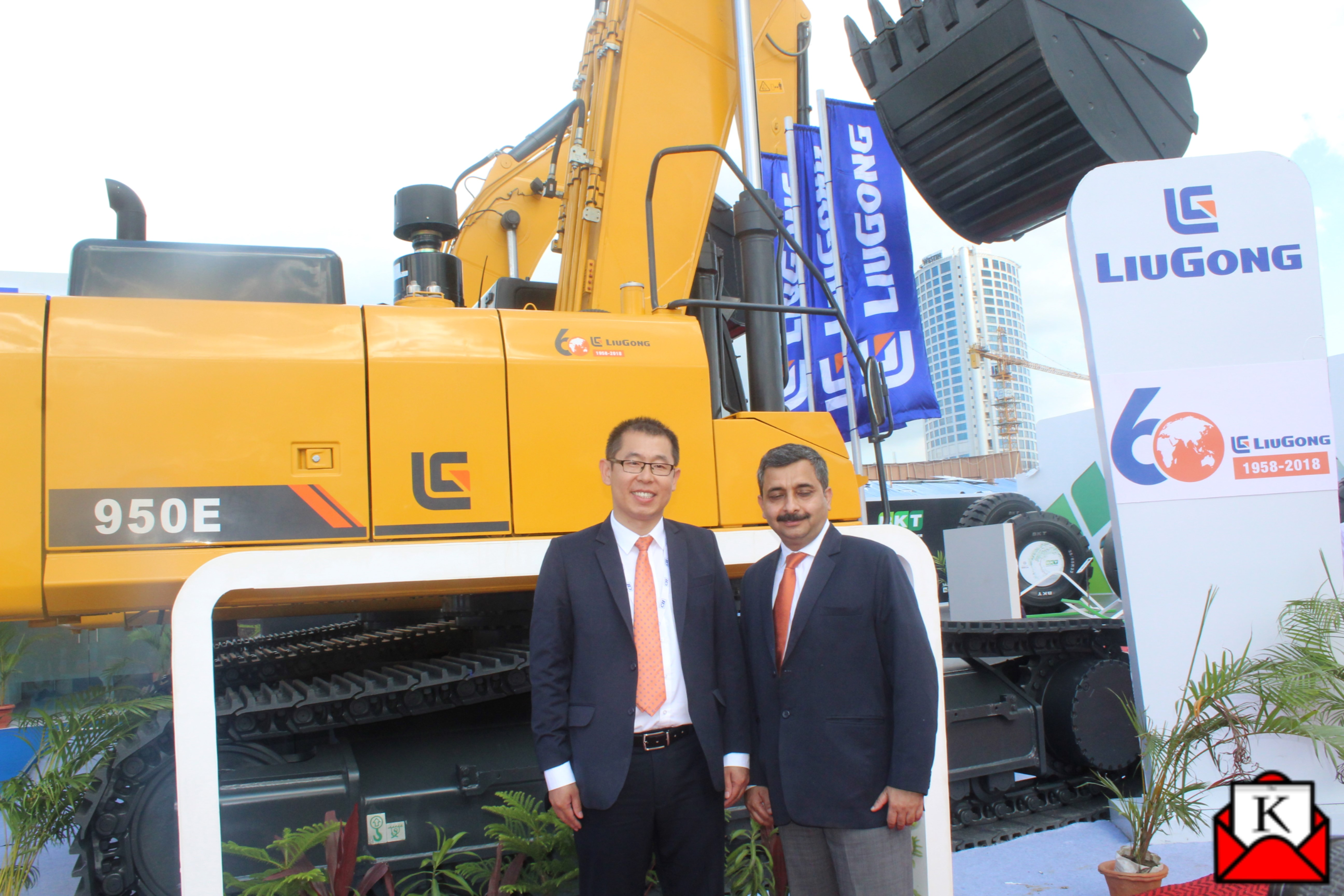 LiuGong India Launched Two Products at IMME 2018