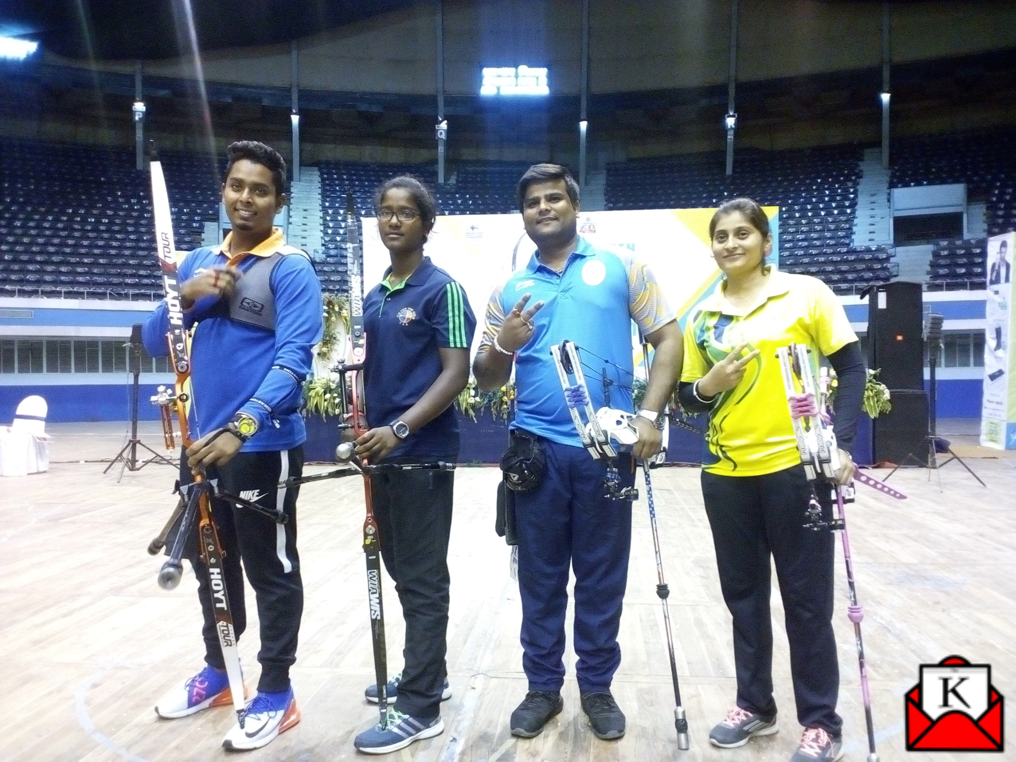 Atanu, Amit, Komolika and Sushmita Win The First Edition of Indian Open Indoor Archery Tournament