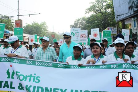 Abir Chatterjee Attends Walkathon on World Kidney Day; An Initiative of Fortis Hospital