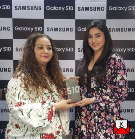 Ridhima Ghosh Unveils Samsung S10, S10 Plus and S10e