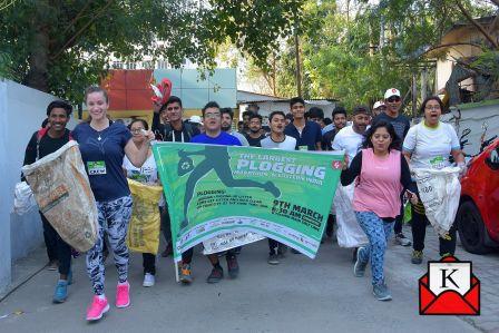 Plogging Run Organized by Techno India Group