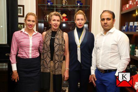 Truefitt & Hill Introduced Joanna Broughton to India
